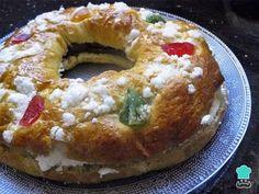 Receta de Roscón de Reyes sin gluten #RecetasGratis #GlutenFree #RecetasdeCocina #RecetasFáciles #RecetasparaCeliacos #ComidaSana #ComidaSinGluten #Navidad #RoscónReyes #RoscadeReyes