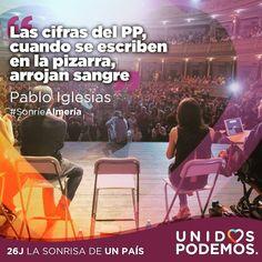 El 26J sonreiremos. #SonrieAlmería