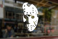 Funny Decals, Funny Stickers, Electronics Projects, Laptop Computers, Computer Laptop, Jason Voorhees, Friday The 13th, Car Magnets, Boutique
