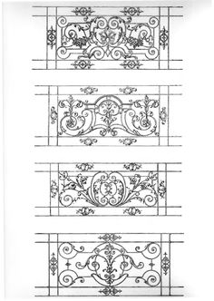 ---- Metal Drawing, Steel Gate Design, Balcony Railing Design, Iron Furniture, Grill Design, Iron Work, Iron Gates, Architectural Elements, Grills