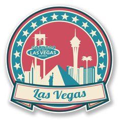 2 X Las Vegas Nevada Usa Vinyl Sticker Ipad Laptop Car Travel Luggage Arte Dope, Vegas Tattoo, Homemade Stickers, Nevada Usa, Tumblr Stickers, Thinking Day, Las Vegas Nevada, Instagram Highlight Icons, Aesthetic Stickers