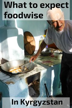 Kyrgyzstan - What to expect foodwise: meat, vegetables and the bread cooked in traditional oven - click for more photos and information