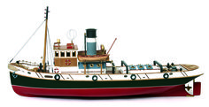 Occre Ulises Tug 1 30 Scale Model RC Wood and Metal Boat Kit