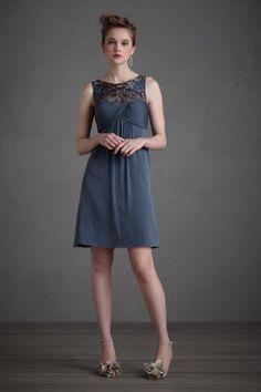 Blue Dress #Bridesmaid