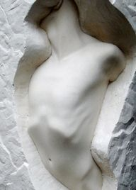 """""""I saw the angel in the marble and carved until I set him free."""" - Michelangelo"""