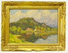 OTA BUBENÍČEK (1871-1962)  Near Mladá Vožice Garden, Painting, Art, Art Background, Garten, Lawn And Garden, Painting Art, Kunst, Gardens