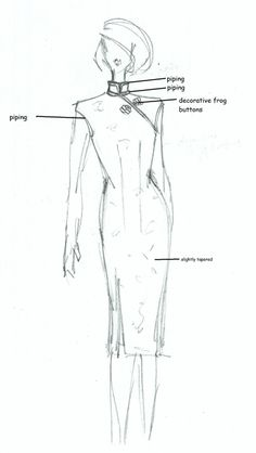 cheongsam explained with link to free pattern