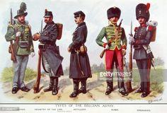 uniforms world war one | News Photo : Belgian infantry uniforms during world war one.