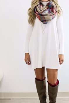 cool How To Make Swing Dresses Work For All Body Types... by http://www.globalfashionista.xyz/k-fashion/how-to-make-swing-dresses-work-for-all-body-types/