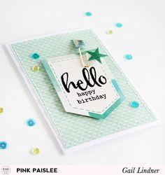 Monochromatic Cards @gail_lindner @pinkpaislee #pinkpaislee #DIY #takemeaway #cards #cardmaking
