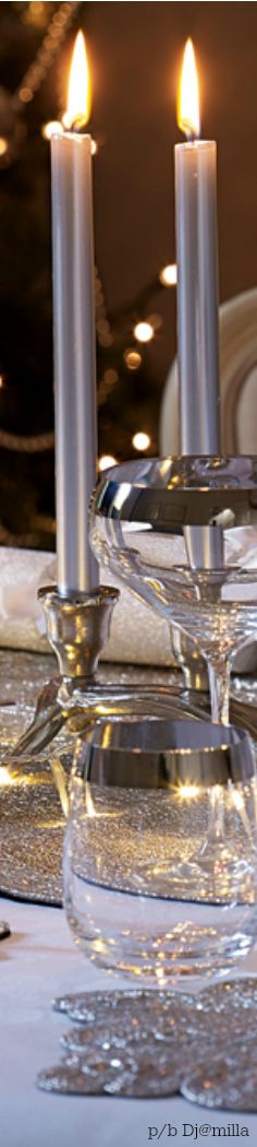 Silver & Gold Christmas *´¨`*:•♥