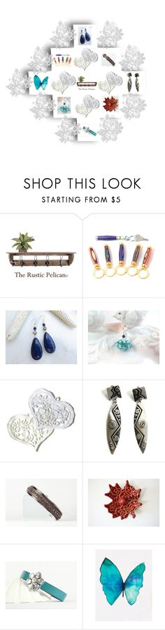 """""""Gift set"""" by keepsakedesignbycmm ❤ liked on Polyvore featuring Verso, Lazuli, jewelry, accessories and decor"""