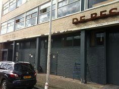 """Herstellen betonschade pand """"De Besturing"""" Den Haag - September 2012"""