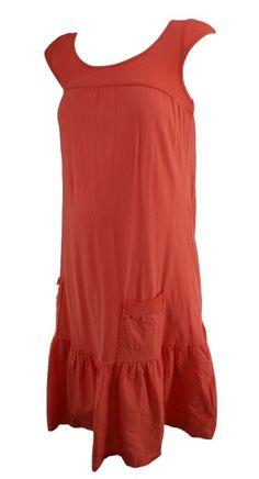 Coral Maternal America Maternity Short Sleeve Maternity Casual Dress (Like New - Size Medium) - Motherhood Closet - Maternity Consignment