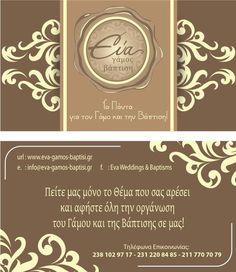 Eva weddings & baptisms
