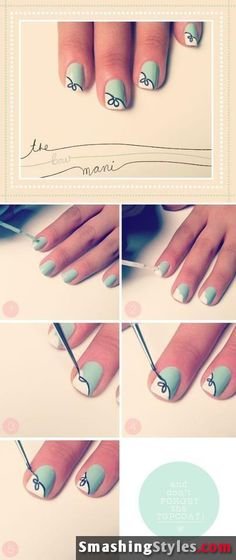 20 Easy And Wonderful Nail Art Tutorials