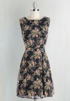 Fragrance In a Lifetime Dress. How often do you happen upon a look as darling as this feminine dress? #multi #modcloth