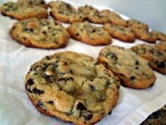 low carb cookies...use the darkest chips you can find for lower carb count..So glad I love dark chocolate