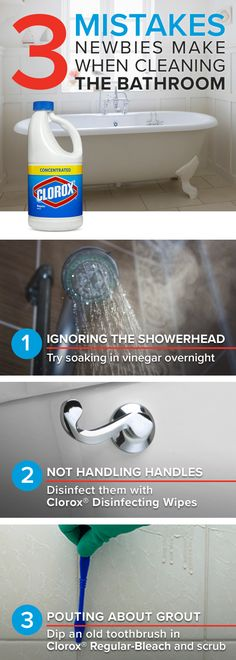 If you want to really deep clean the bathroom, then there are a few areas not to miss. Follow these tips to ensure that the bathroom is clean enough for mom! For more great and easy tips on keeping your home germ-free, visit Clorox.com.