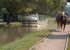 Metamora and the Whitewater Canal Horse drawn boat