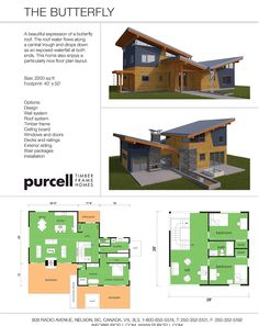 The Butterfly Home Design