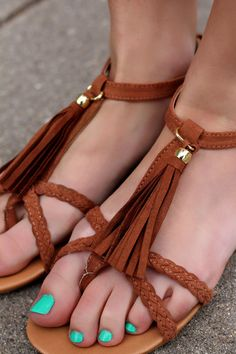 Strappy Tassel Sandals | UOIonline.com: Women's Clothing Boutique