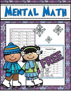 Mental Math for 2nd grade---FREE math