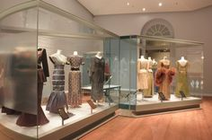 "QSMT exhibition installation shot in Gallery 1 of ""Artistry in Silk: The Royal Style of Her Majesty Queen Sirikit"". 2012 Photo courtesy of QSMT"