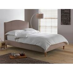 Luca Kingsize Bed Frame - Grey at Homebase -- Be inspired and make your house a home. Buy now.