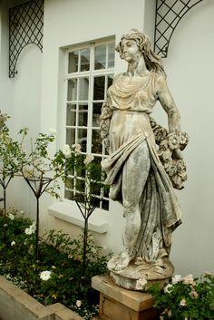 #statues @Villa Maria Guest Lodge.