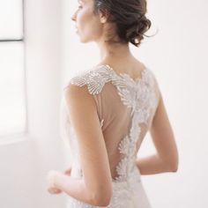 Back details are my favorite thing to play with. Greatest Adventure, French Lace, Bridal Collection, Bridal Gowns, Play, Bride, Elegant, Wedding, Tops
