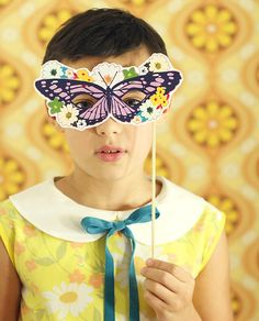 DIY Printable Masks.