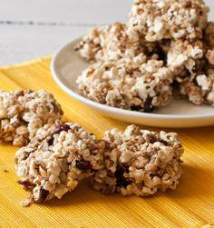 Popcorn Snack Squares | Betsylife.com