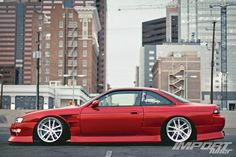 Import Tuners - s14 - Nissan 240sx - Zenki - Mean body kit and flare