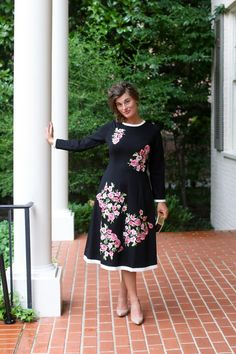 Modest Fashion Modest Bridesmaid Dresses Classy Blissful Bloom Dress by Dainty Jewell's Modest Black Dress, Modest Dresses For Women, Modest Maxi Dress, Modest Dresses Casual, Modest Bridesmaid Dresses, Modest Skirts, Modest Outfits, Modest Fashion, Sexy Dresses