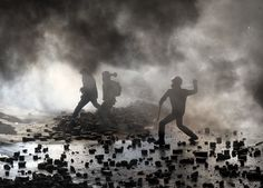 Images from Ukraine's capital, Kiev, as security forces storm the main anti-government protest camp in Independence Square. Band Photos, Press Photo, Social Issues, Ukraine, Revolution, Around The Worlds, Scene, Concert, Pictures