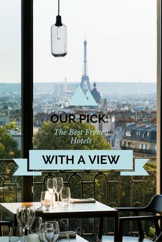 Hotels in France with exceptional views. This is Le Terrass' in Paris Hotels In France, Best Hotels, Seaside, Paris, Holiday, Vacations, Holidays, Coast, Vacation