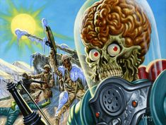 Mars Attacks Invasion | Mars Attacks: Invasion – War in the Middle-East by Joe Jusko