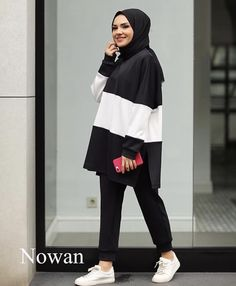 Modest Fashion Hijab, Modern Hijab Fashion, Casual Hijab Outfit, Hijab Fashion Inspiration, Islamic Fashion, Hijab Chic, Muslim Fashion, Mode Inspiration, Look Fashion
