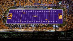 LSU.....somewhere I'd really love to go one day ! Geaux Tigers ! :)