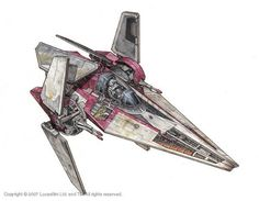 Star Wars Cutaway: Nimbus-class V-wing Starfighter