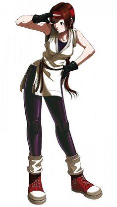 King of Fighters - Yuri Sakazaki
