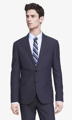 LINEN-COTTON PHOTOGRAPHER SUIT JACKET | Express