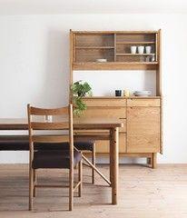 日式餐边柜 实木餐边柜 日式实木餐边柜 北欧风格 纯实木碗柜斗柜