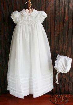 Bridgette Girls Christening Gown
