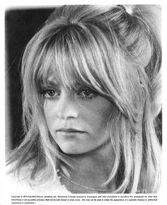 """Shampoo"" movie still, 1975.  Goldie Hawn as Jill."