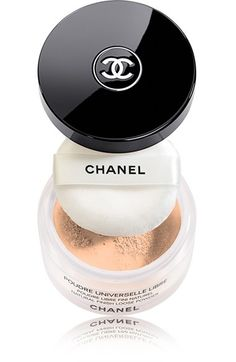 Free shipping and returns on CHANEL POUDRE UNIVERSELLE LIBRE Natural Finish Loose Powder at Nordstrom.com. Ultrasoft loose powder provides sheer, light coverage with a matte finish, setting and perfecting makeup as it evens skin tone. Photo-reflective pigments help disguise imperfections without emphasizing lines.<br><br>Rêverie shade is part of the Holiday 2012 Éclats du Soir de Chanel Collection.