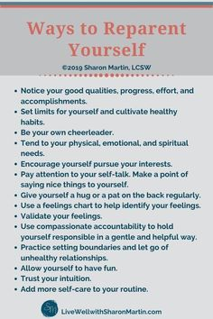 Growing up in a neglectful or dysfunctional family leaves social-emotional deficits. Learn to reparent yourself and give yourself what your parerents didn't Motivation, Mantra, Inner Child Healing, Spiritual Needs, Pin On, Self Improvement Tips, Visual Statements, Sharon Martin, Coping Skills