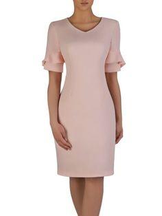 Kliknij na zdjęcie, aby je powiększyć Lovely Dresses, Elegant Dresses, Casual Dresses, Short Dresses, Formal Dresses, Office Dresses For Women, Clothes For Women, Modest Fashion, Fashion Dresses