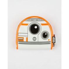 STAR WARS x Loungefly BB-8 Coin Purse (€18) ❤ liked on Polyvore featuring bags, wallets, white combo, coin purse wallets, loungefly wallet, zip-around wallet, metal wallet and change purse wallet